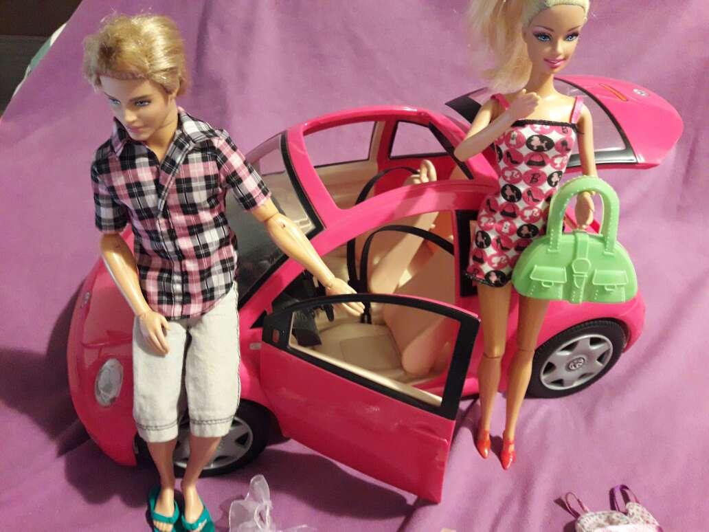 Imagen producto Coche+barbie+Kenia ropa 2
