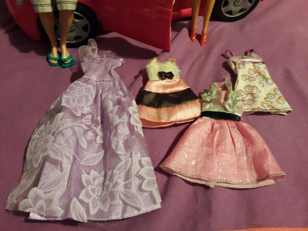 Imagen producto Coche+barbie+Kenia ropa 3