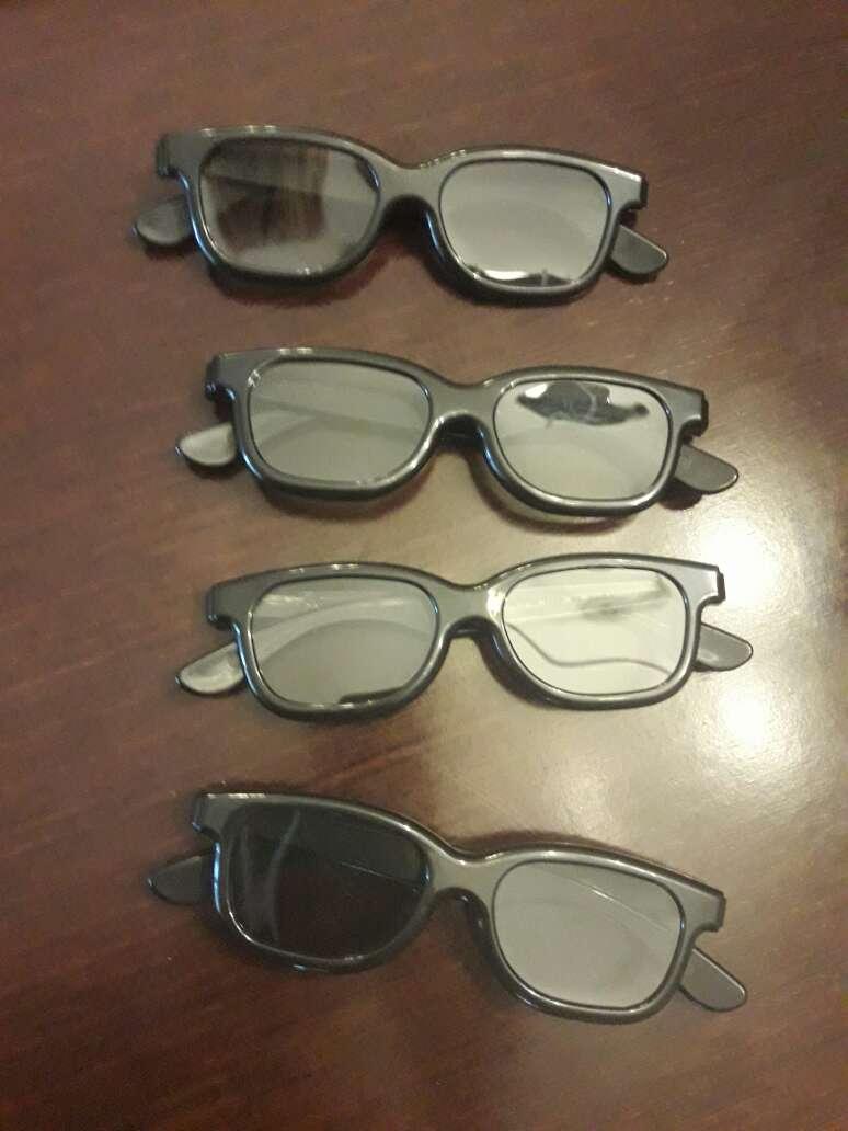 Imagen pack gafas 3d pasivas.todas 4 euros