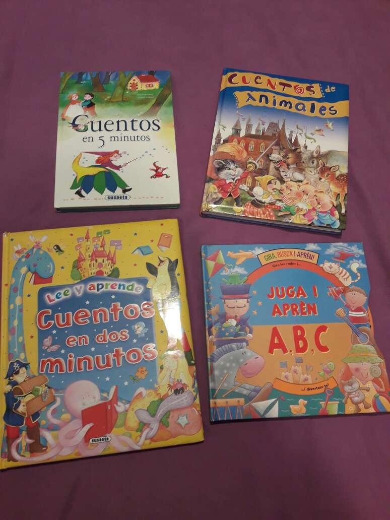 Imagen 4 libros de cuentos tapa dura.