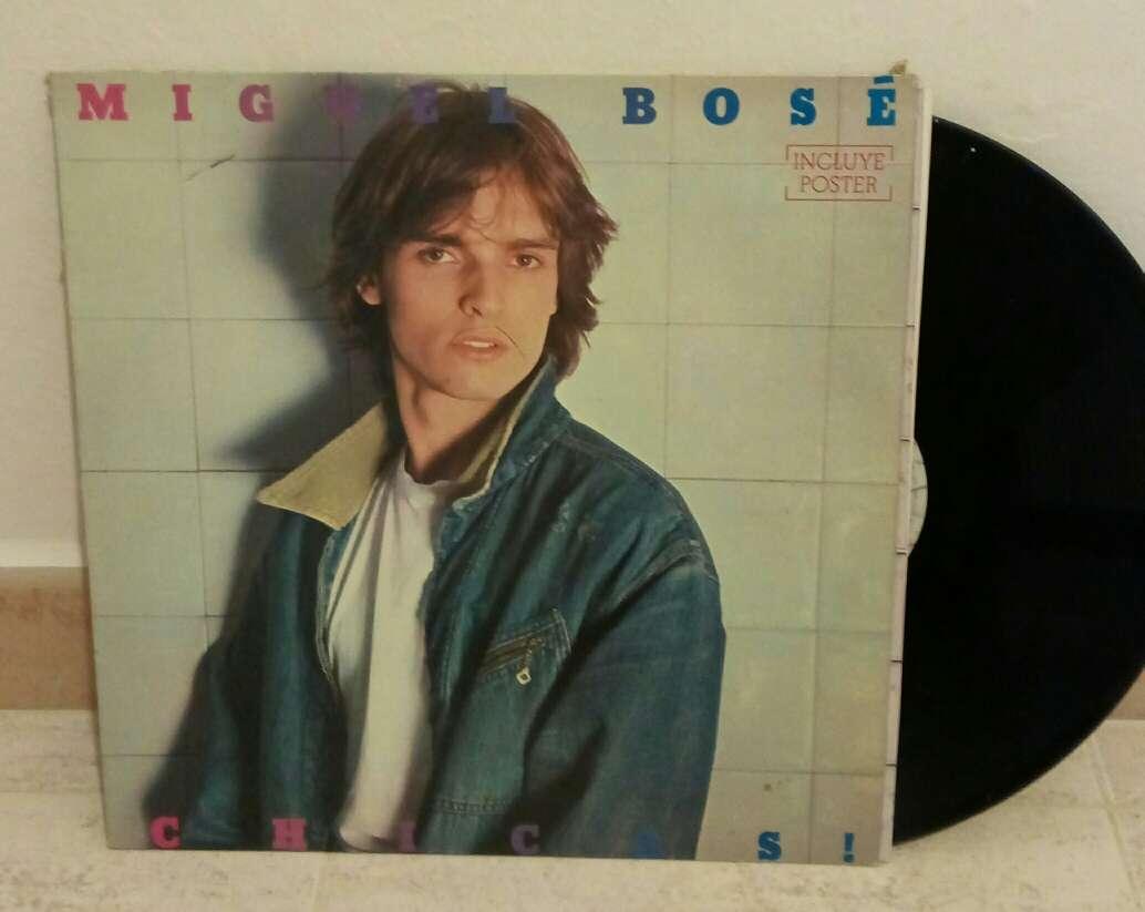 Imagen disco vinilo Miguel Bosé (chicas)