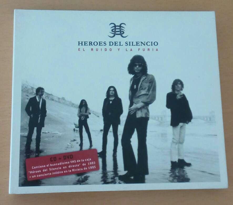 Imagen Héroes del silencio CD+DVD