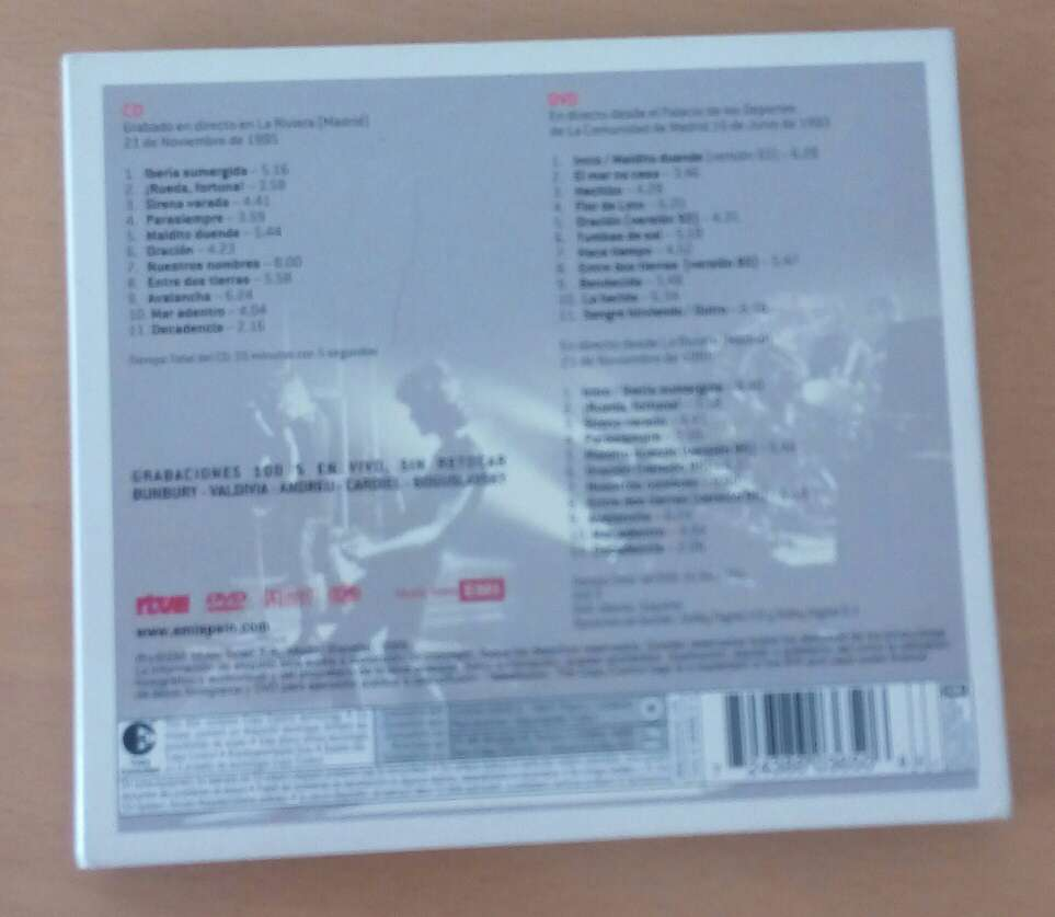 Imagen producto Héroes del silencio CD+DVD 2