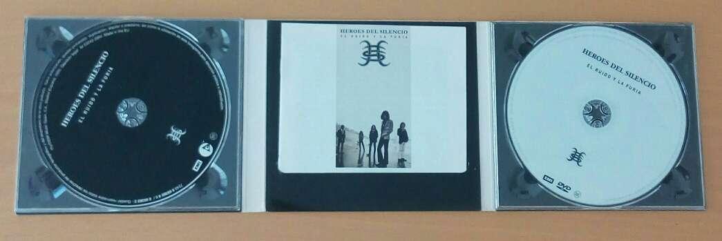 Imagen producto Héroes del silencio CD+DVD 3