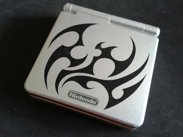 Imagen producto Game Boy Advance SP Tribal 2