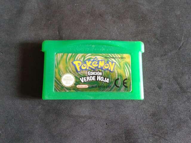 Imagen Pokémon edición Verde Hoja