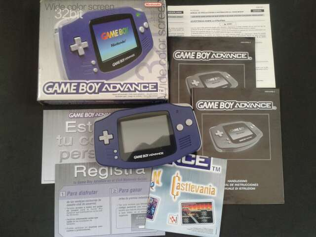 Imagen Game Boy Advance Violeta