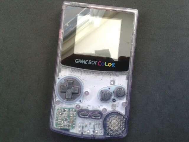 Imagen Game Boy Color clear Purple