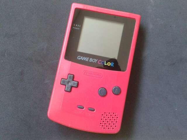 Imagen Game Boy Color Fucsia