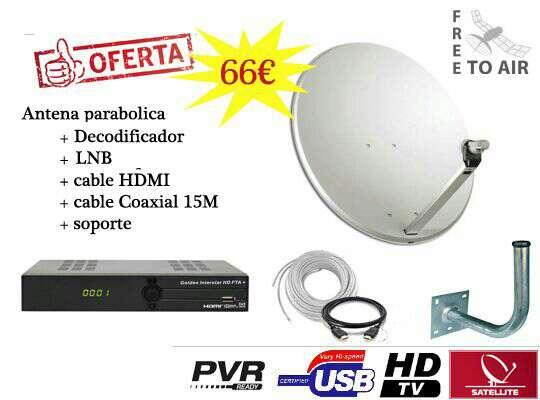 Imagen Kit de Antena parabólica