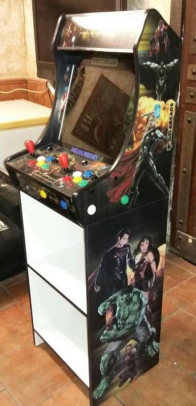 Imagen Máquina Recreativa Arcade Bartop y Pie