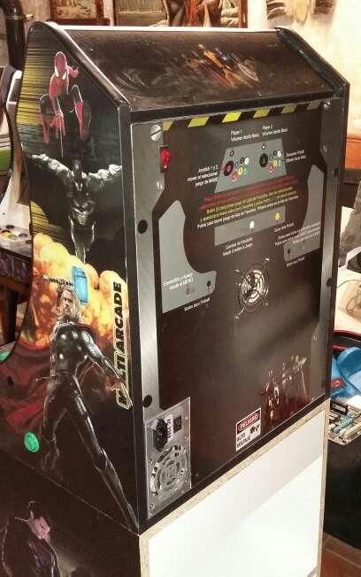 Imagen producto Máquina Recreativa Arcade Bartop y Pie 4
