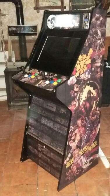 Imagen producto Máquina Recreativa Arcade Completa 1