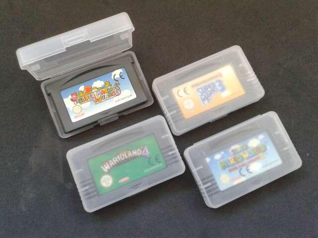Imagen Cajas juegos Game Boy Advance