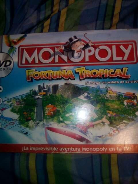 Imagen juego de mesa monopoli fortuna tropical