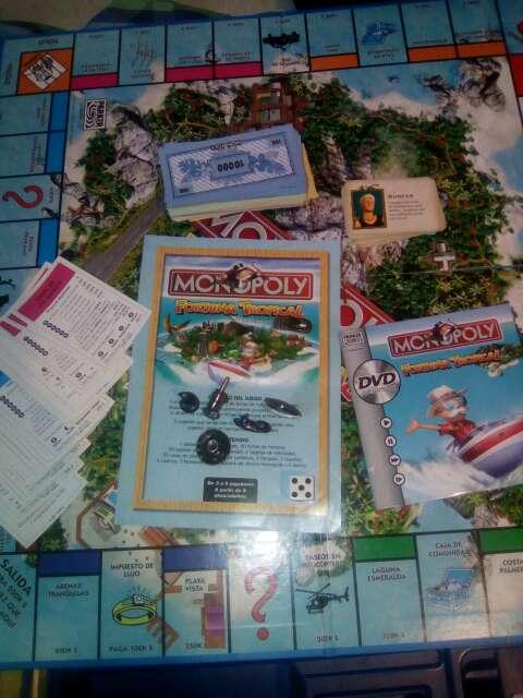 Imagen producto Juego de mesa monopoli fortuna tropical 2