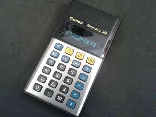 Imagen Calculadora Canon Palmtronic 8M