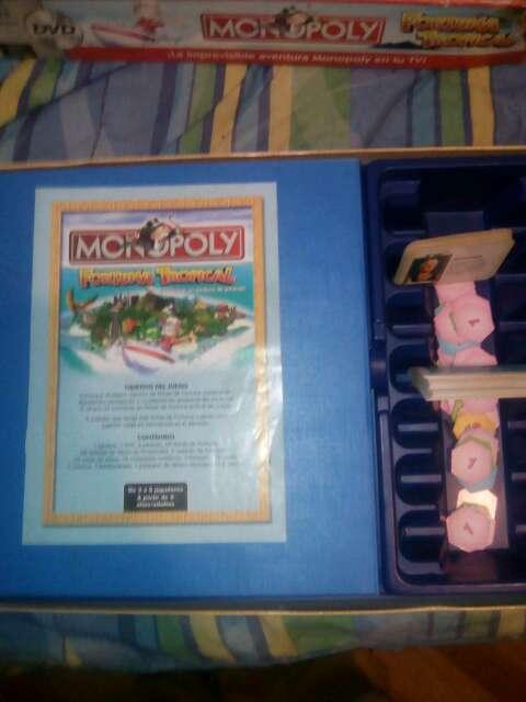 Imagen producto Juego de mesa monopoli fortuna tropical 4