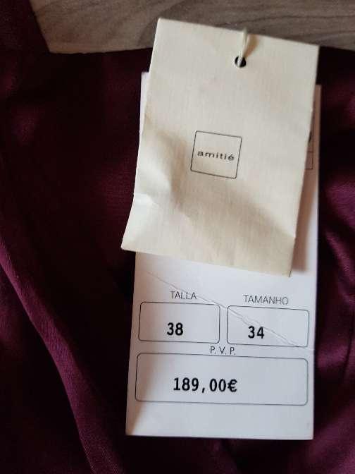 Imagen producto Vestido largo con etiqueta nuevo a estrenar 2
