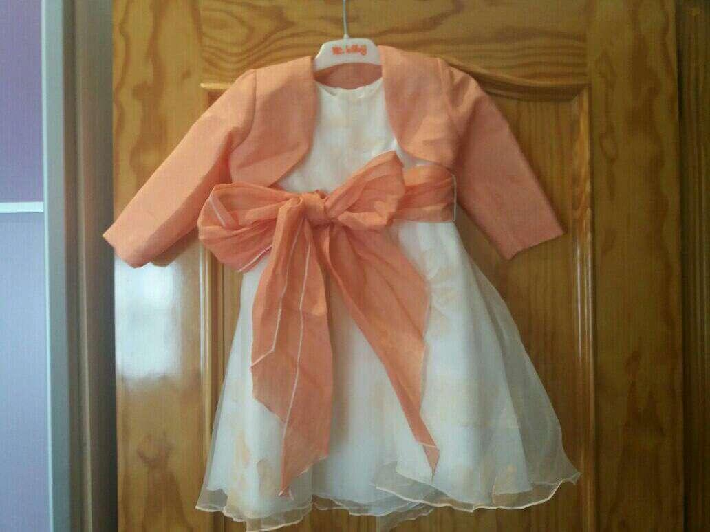 Imagen producto Vestido niña de arras 1