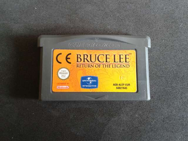 Imagen Bruce Lee Game Boy Advance