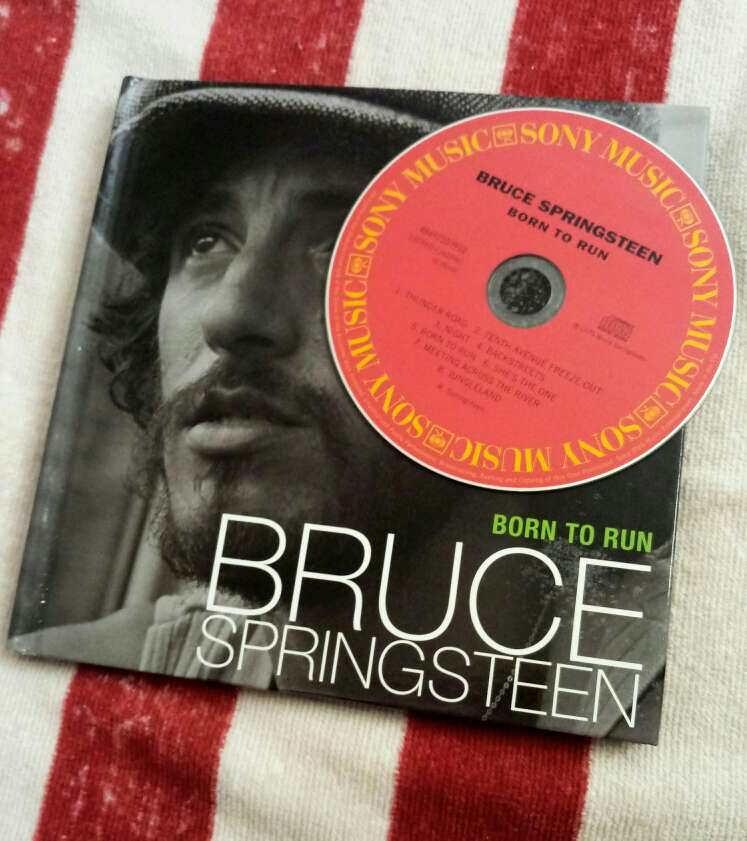 Imagen Bruce Springsteen disco Born To Run + libro