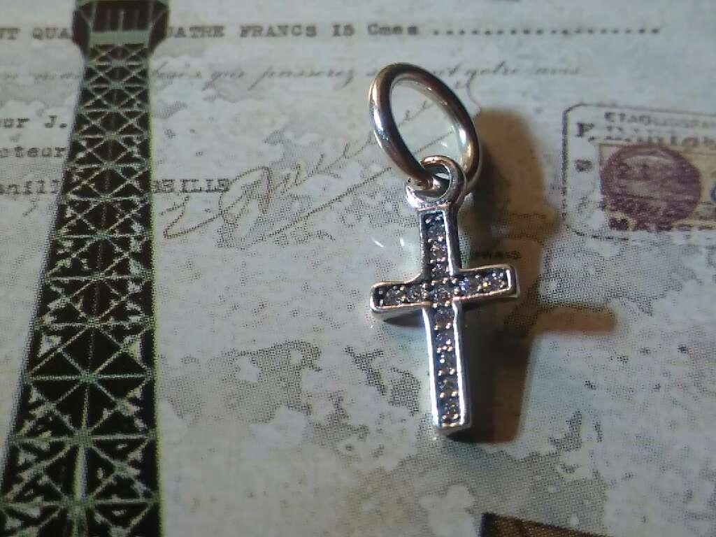 Imagen producto Charms (Cruz de Cristo)  4