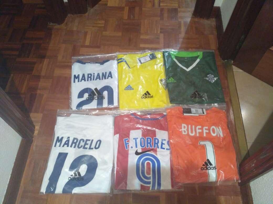 Imagen producto Camisetas futbol 2