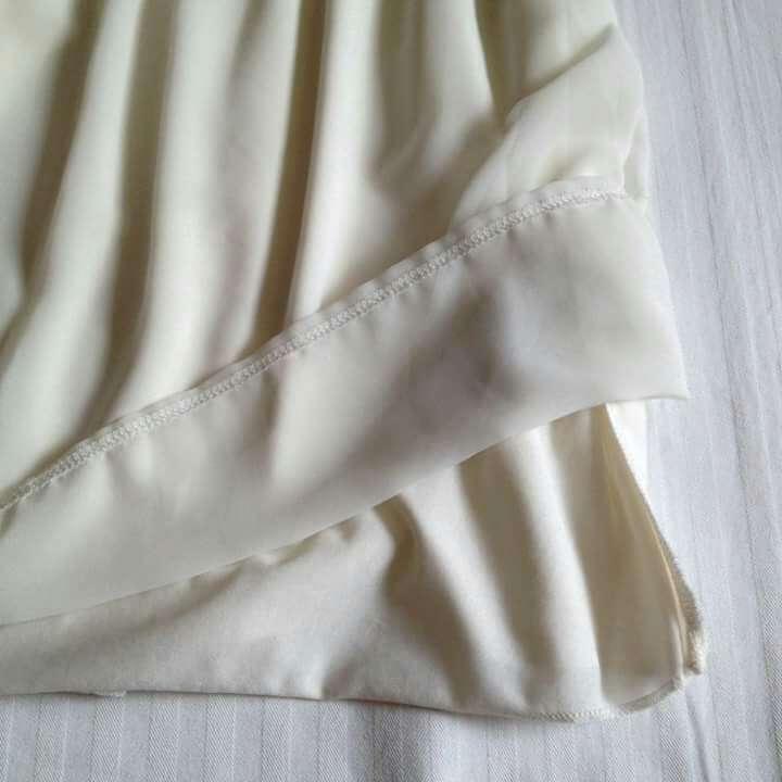 Imagen producto Vestido vaporoso blanco fiesta  4