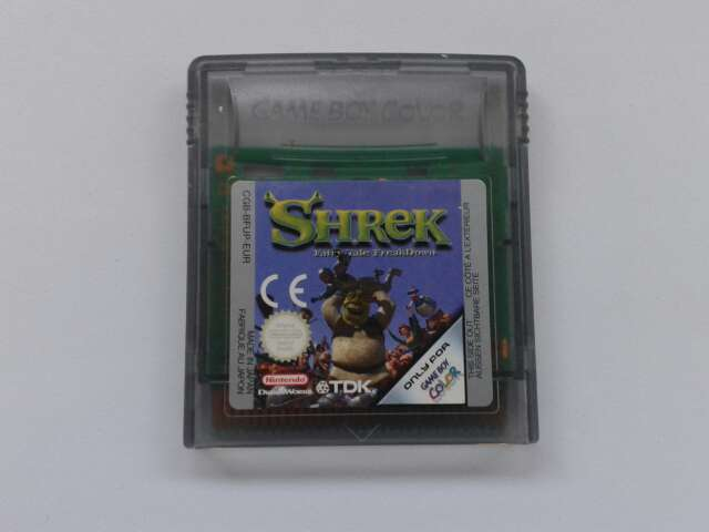 Imagen Shrek Game Boy Color