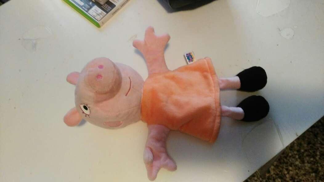 Imagen marioneta mamá pig