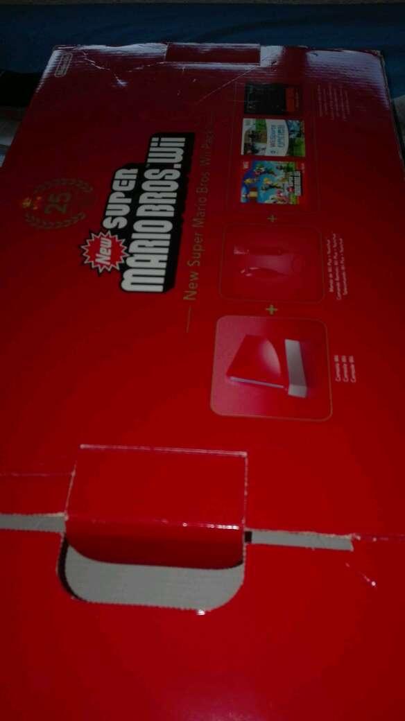 Imagen producto Wii Roja Original 3