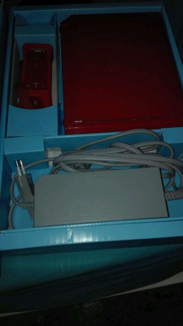 Imagen Wii Roja Original