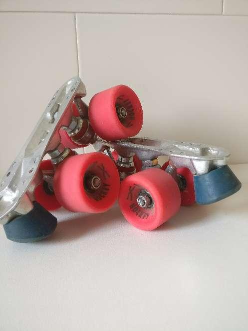 Imagen Plancha patines quad / cuatro ruedas