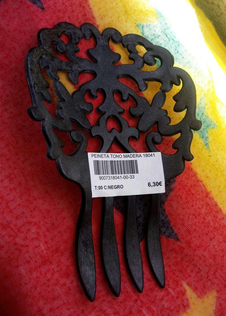 Imagen producto Peinetas madera ¡A ESTRENAR! Con etiqueta!  2