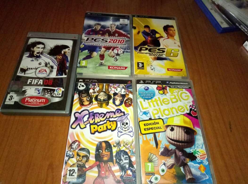 Imagen juegos PSP