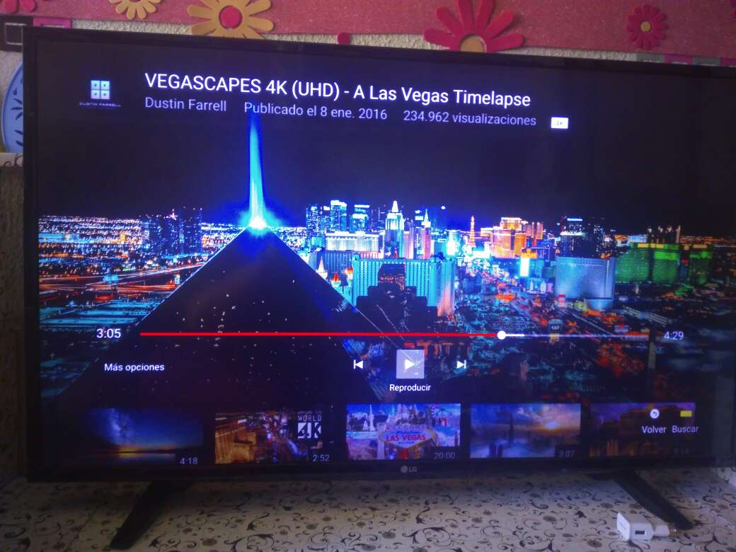 Imagen televisión lg ultra hd 4k