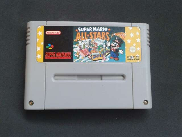 Imagen Super Mario All Stars