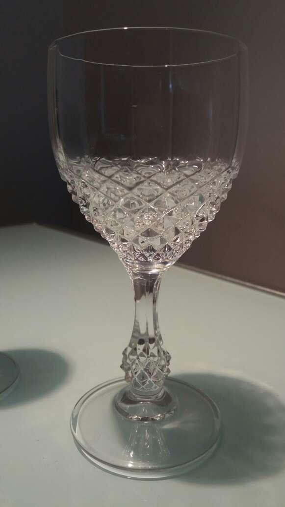 Imagen 48 copas Cristalería D'arques. Copas fe cristal talladas