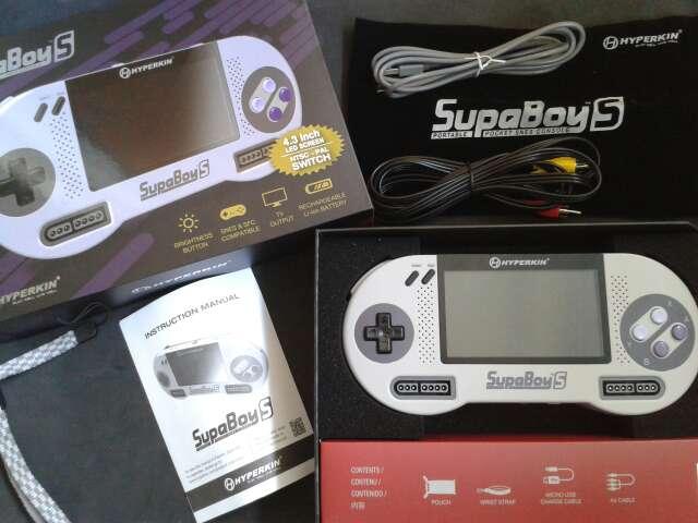 Imagen producto Consola SupaBoy S 1