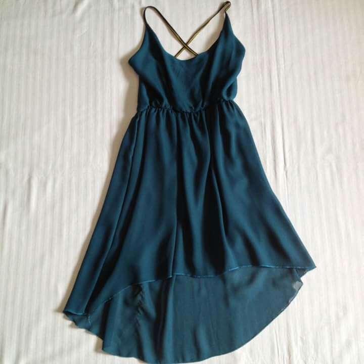 Imagen Vestido verde esmeralda