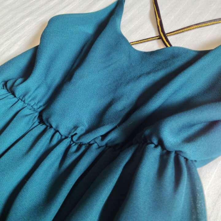 Imagen producto Vestido verde esmeralda 3