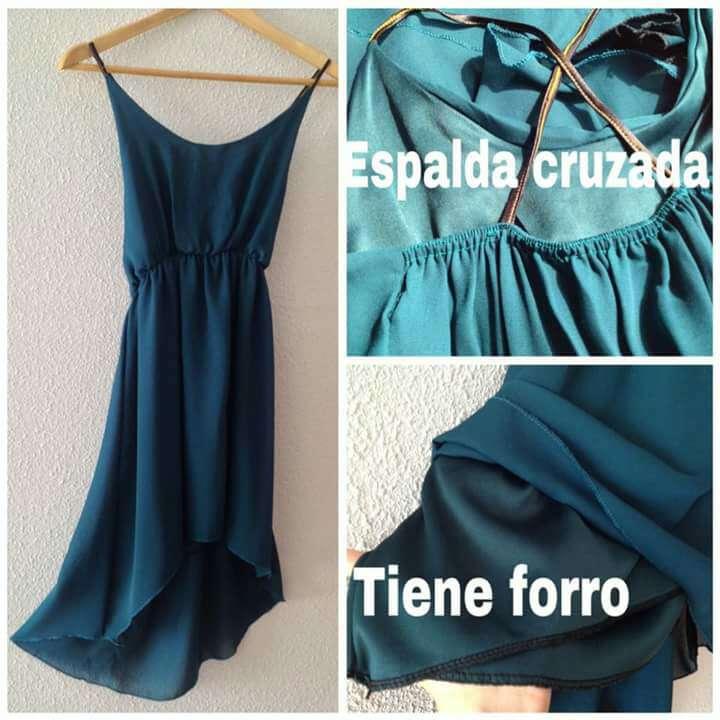 Imagen producto Vestido verde esmeralda 2