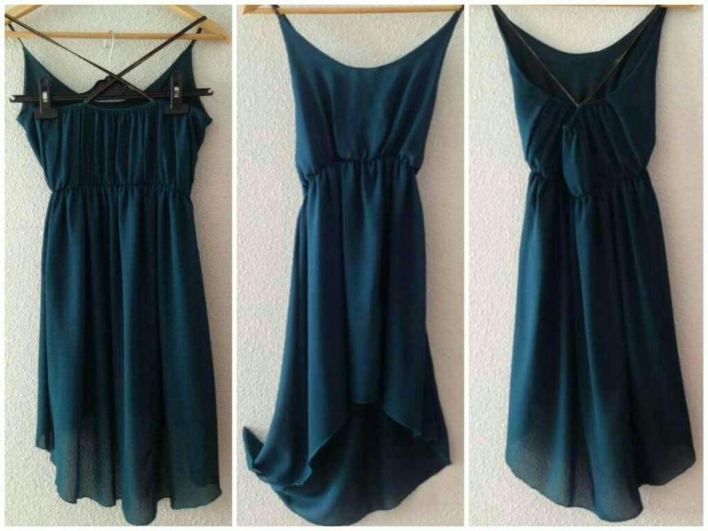 Imagen producto Vestido verde esmeralda 4