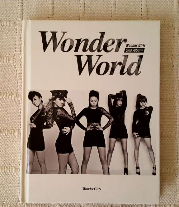 Imagen Wonder World - Wonder Girls (CD KPOP)
