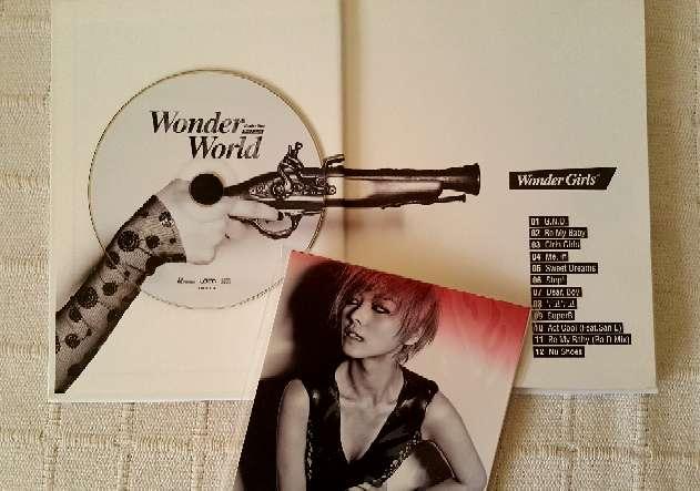 Imagen producto Wonder World - Wonder Girls (CD KPOP) 2