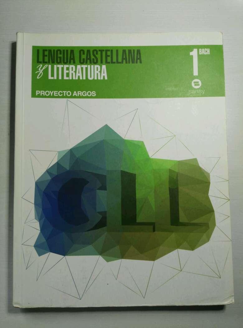 Imagen Libro de Lengua Castellana y Literatura 1er Bachiller