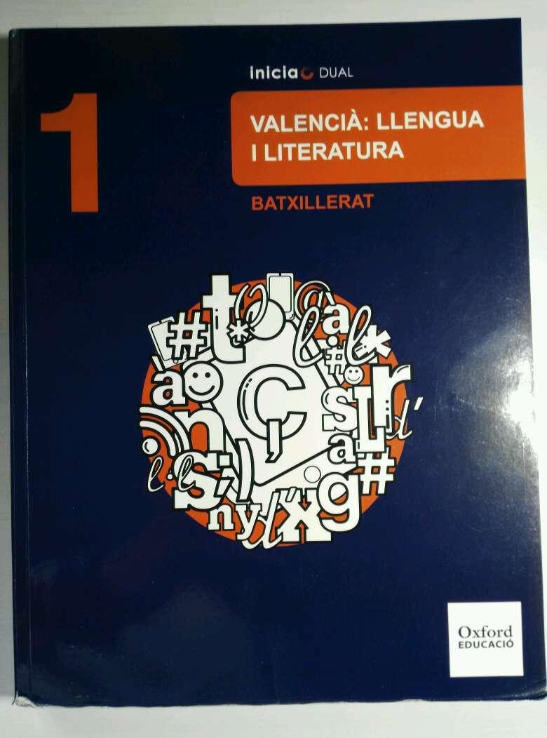 Imagen Llibre Valencià: Llengua i Literatura 1er de Batciller