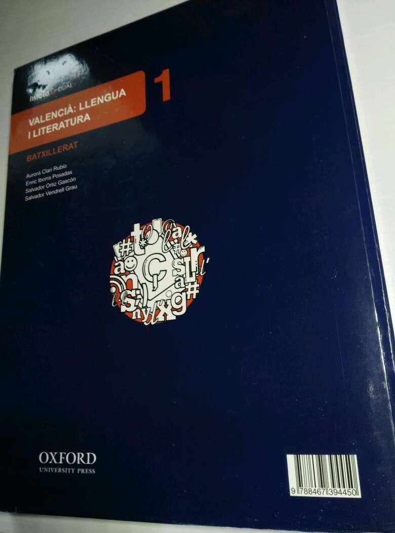 Imagen producto Llibre Valencià: Llengua i Literatura 1er de Batciller 3