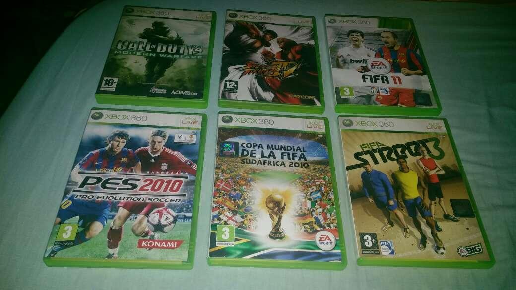 Imagen pack juegos xbox 360